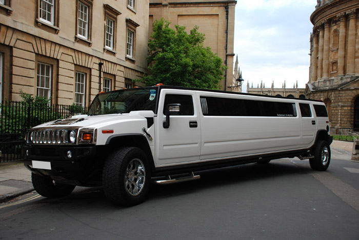 15 Seat White Hummer H2 Limousine - The Reading Limo Company